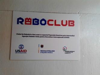 Lansarea Clubului de Robotică