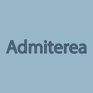 Admiterea ,  anul școlar 2017 -2018